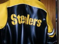 We have a men's size large Steelers Jacket for sale.