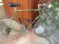 I have a vintage 1970's road bike made by raleigh. It