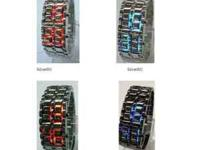 Samurai Japanese Inspired LED faceless Watch Material:
