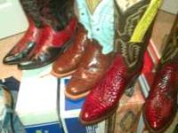 94a44168860 Men s western boots exotic skins (memphis oakland)