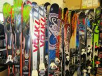 Awesome demo skis - most of them from 12/13 Tuned, with