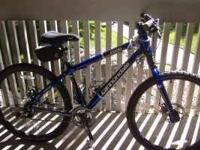 These Matching Cannondale Mountain Bikes are like new.