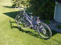 For sale his and hers bikes. regular wear but still
