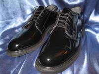 For Sale: Pair of mens size 8 black patent leather