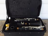 I am selling a clarinet, a Mendini by Cecilio. It has