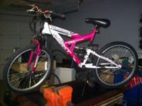 "MENS 24"" NEXT POWER CLIMBER 18 SPEED BIKE. IN GOOD"