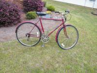 "Mens 26"" Free Spirit. Needs one shifting cable, which"
