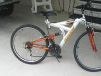 "SELLING A 26"" HUFFY MOUNTAIN BIKE, 21 SPEED, ALUMINUM"