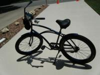 MENS 3G NEWPORT DLX BEACH CRUISER WITH LOTS OF EXTRAS,