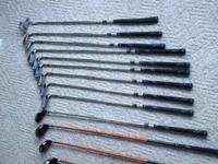 For sale is a set of used Mens golf club set which