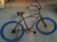 "26"" HUFFY CRUISER HAS NEW TIRES & TUBES RIDES GOOD"