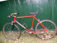 I have a mens bike 25.00 nothing fancy if interested