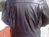 FirstGear brand name bike jacket. Numerous zippered