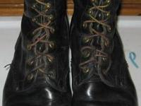 Hi!  We have a Pair of Mens Black Leather Steel Toed