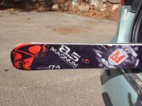 174 Blizzard magnum 8.5 skis with great new bindings ,