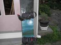 Nice Burton Board with Lamar Bindings, nice condition.
