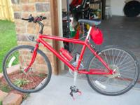Up for sale is a mens Cannondale mountain bike. It has