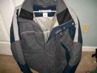 "Mens ""Columbia"" Winter Jacket XL....Brand New....only"