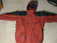I am selling a Mens Large Columbia Winter Jacket. The
