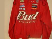Have some older design Dale Jr # 8 BUDWEISER nascar
