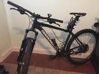 Mens Diamondback Overdrive Sport mountain bike, barely