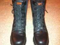 Pre-owned Mens Harley Davidson riding boots size 10. I