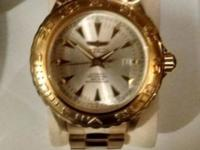 Invicta automatic professional 23 kt plated new cost is