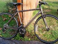 "Mens IRON HORSE Road Bike Barely Used 20"" frame 3"