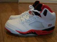 Mens Jordan Retro 5 size 11 New in box. Contact me by