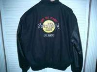 This is for a barley used mens large hard rock cafe
