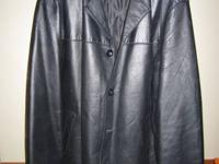 Med size Mens Soft Leather Jacket in Great condition