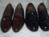 Mens Leather Dress Shoes (11 d) - $12  like new