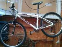 Raleigh M80 24 Speed Mens Mountain Bike with Rock Shox