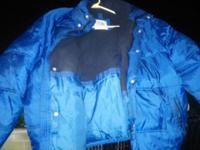 ALL THREE ARE IN GOOD CONDITION, BLUE COAT LARGE $10 -