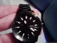 Great Condition Nixon spur watch, In Black GunMetal. It