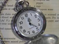 Mens NEW Vintage style Pocket watch - with chain fob