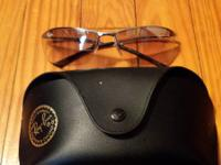 I am selling my mens rayban sunglasses.  They are in
