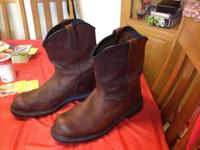 Pecos Dyna Force Boots. Worn Twice. Size 13. Cost $220,