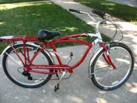Retro Style Schwinn Bicycle Style: Point Beach Cruiser