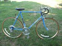 mens Raleigh Record road bike, Nottingham England made,