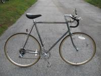 mens Schwinn world sport, grey with minor