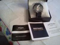Mens ROTARY Limited Edition AUTOMATIC Watch very Rare