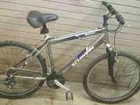 I have a very nice men's or teen schwinn mountain bike.