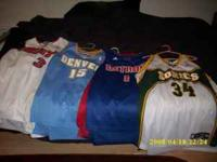 Men's shirts and jerseys sizes XL and XXL all in great
