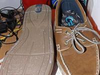 I have a pair of mens boat shoes foR sale. They have