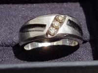 Mens Silver Ring Size 7 1/2 Was $791 at Kay Jewelers,
