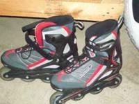 mens size 10 roller blades in new condition.$45 firm
