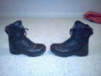 I have a nice pair of Thorogood tactical boots for