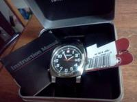 I am selling my mens Swiss Army watch its brandnew in