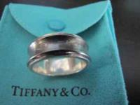 Well taken care of Tiffany ring. Still have the box and